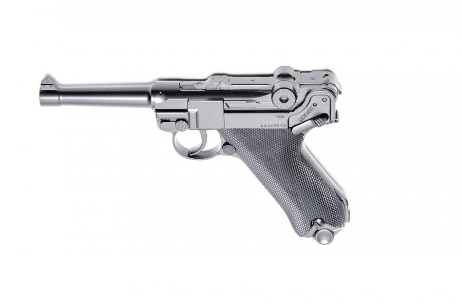 Legends CO² Pistole P 08 brüniert 4,5mmBB