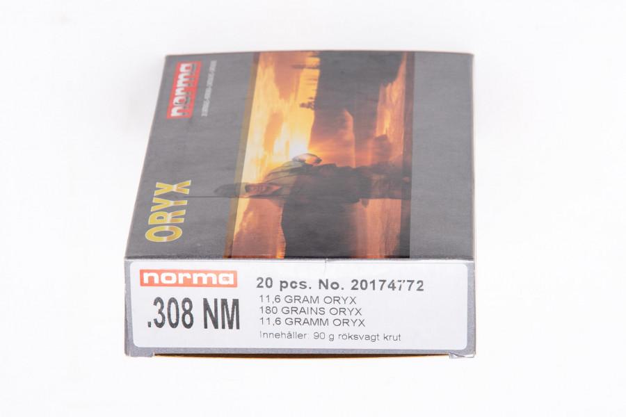 Büchsenpatronen Norma 308 Norma Mag. Oryx