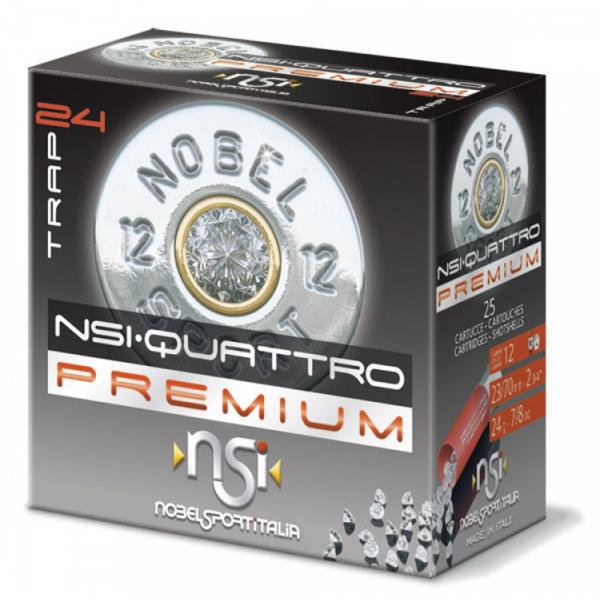 Schrotpatronen NSI Quattro Premium 12/70