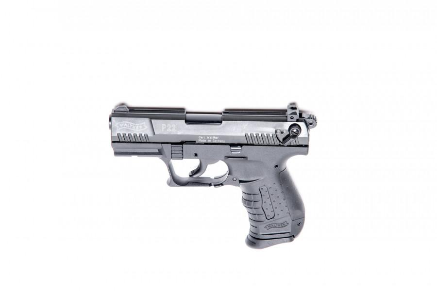 Walther Gaspistole P22 brüniert 9mmPAK