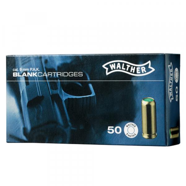 Walther Platzpatronen 9mm P.A.K.