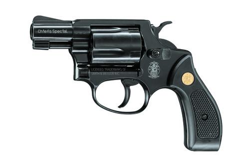 Smith&Wesson Gasrevolver Chief Special brüniert 9mmR.K.