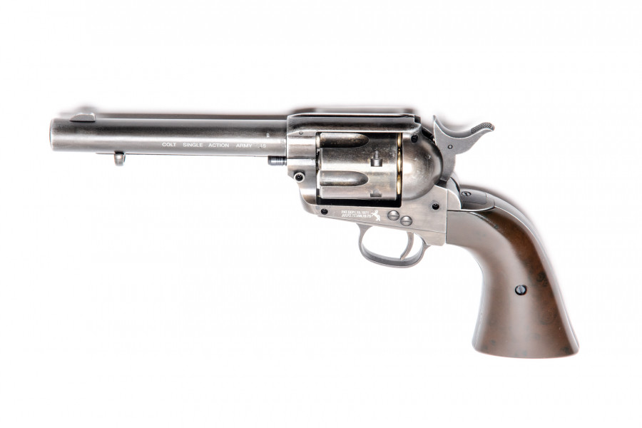 Colt CO² Revolver SAA 45 Peacemaker antique finish 5,5 Zoll 4,5mmBB