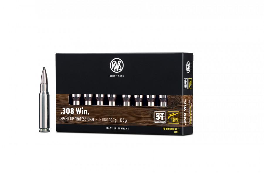 Büchsenpatronen RWS 308 Win. ST-Professional-Short-Rifle 10,7g/165gr