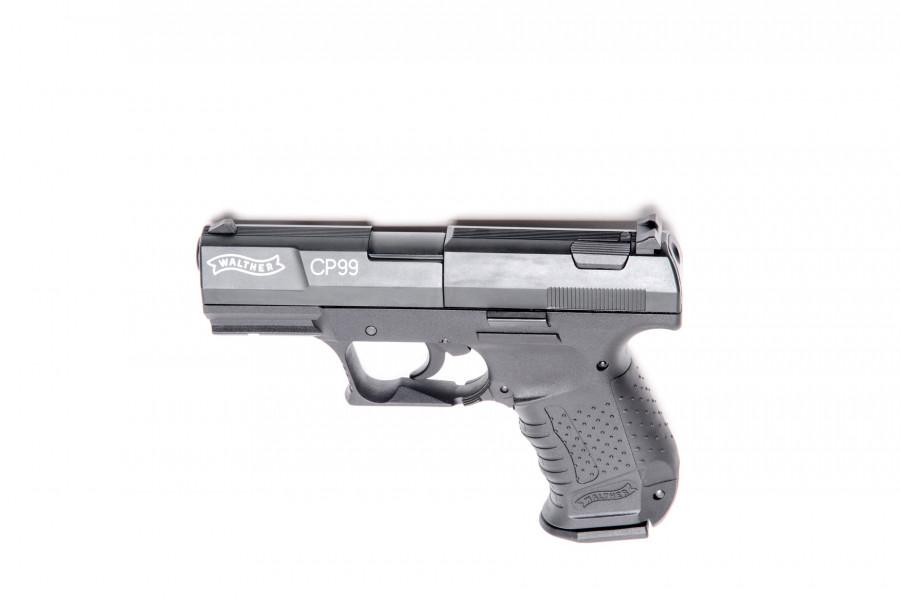 Walther CO² Pistole CP 99 brüniert 4,5mm