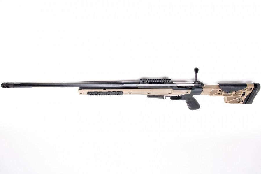 Repetierbüchse Browning X-Bolt Chassis MDT Fluted FDE