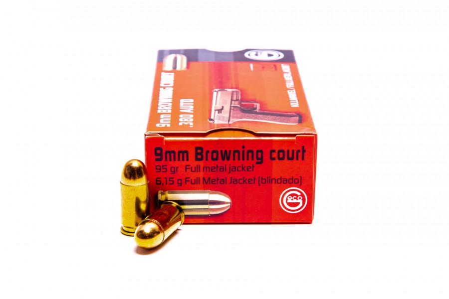 Pistolenpatronen Geco 9 mm kurz FMJ