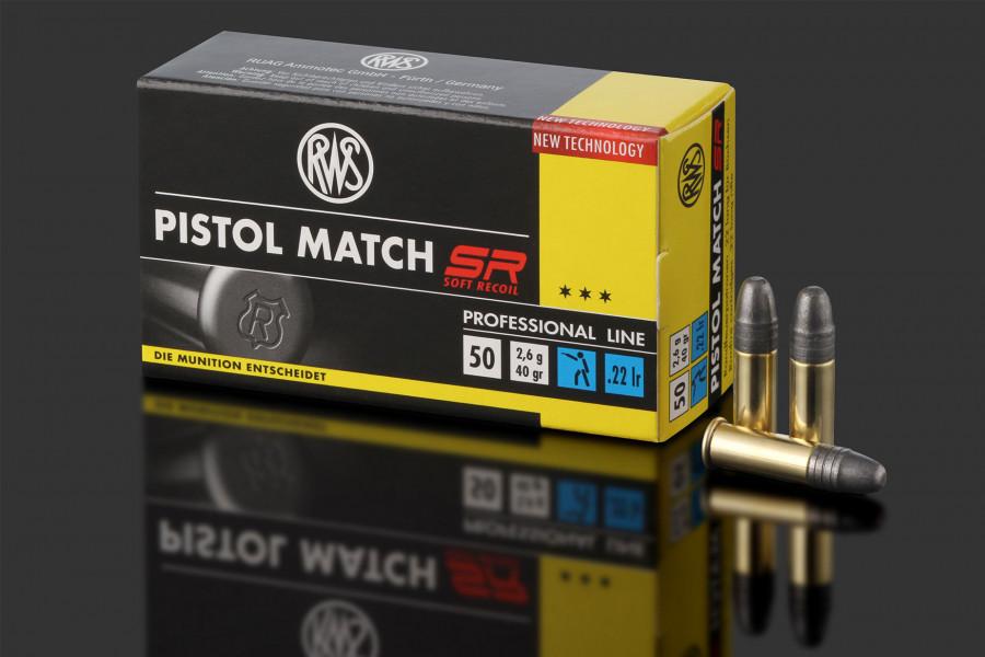 RWS Randfeuerpatronen 22lr Pistol Match SR