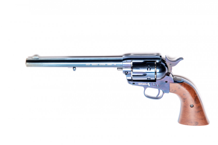 Colt CO² Revolver SAA 45 Peacemaker blue 7,5 Zoll 4,5mm