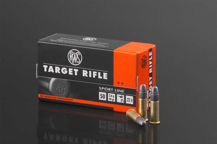 RWS Randfeuerpatronen 22lr Target Rifle