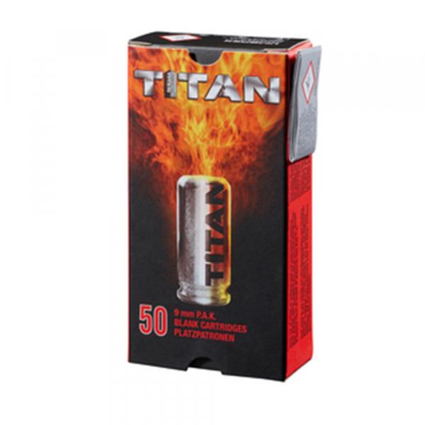 Perfecta Platzpatronen Titan 9mm P.A.K.