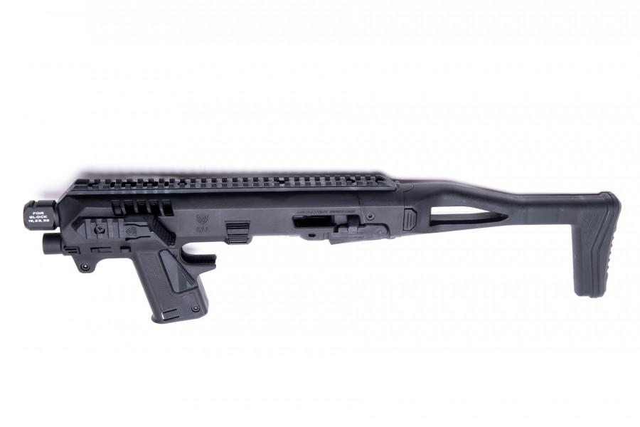 CAA Anschlagschaft RONI G3 Micro schwarz SET Glock 19