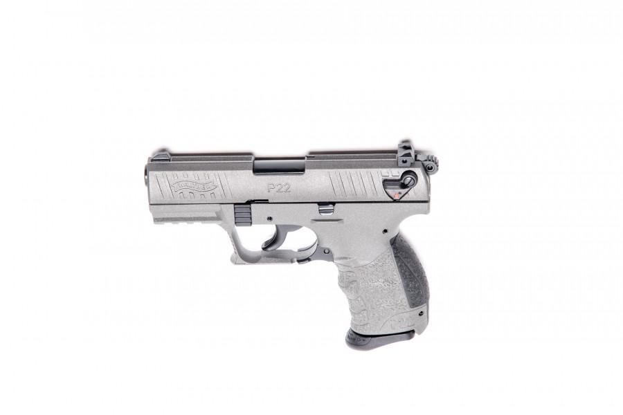 Walther Gaspistole P22Q Tungsten Gray 9mmPAK