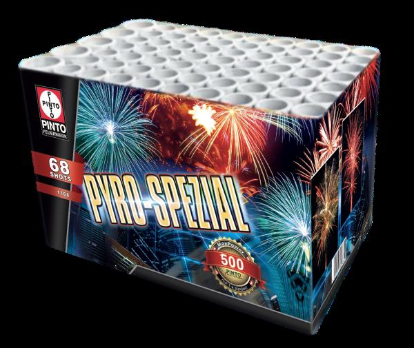 Batteriefeuerwerk Pyro Special