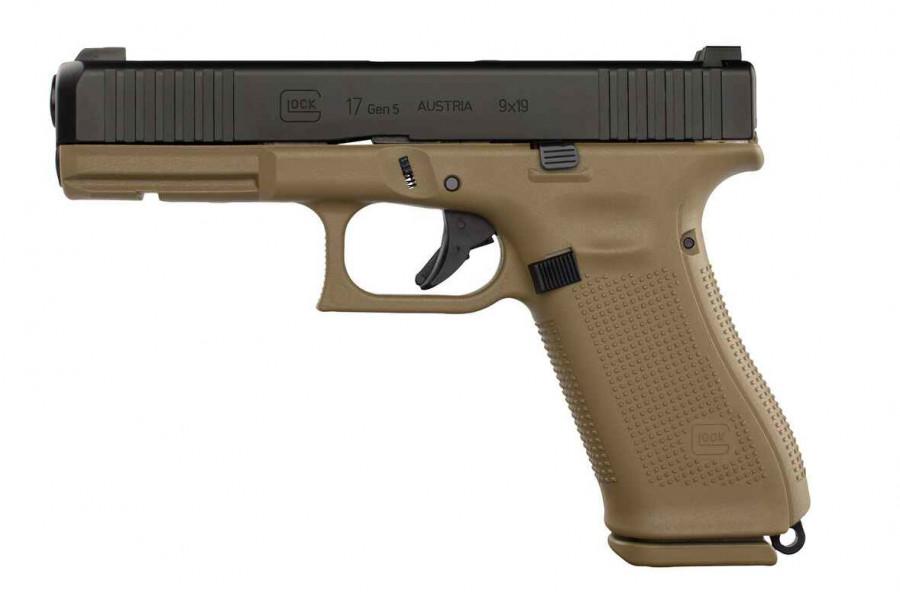 Glock 17 Generation 5 FR Coyote