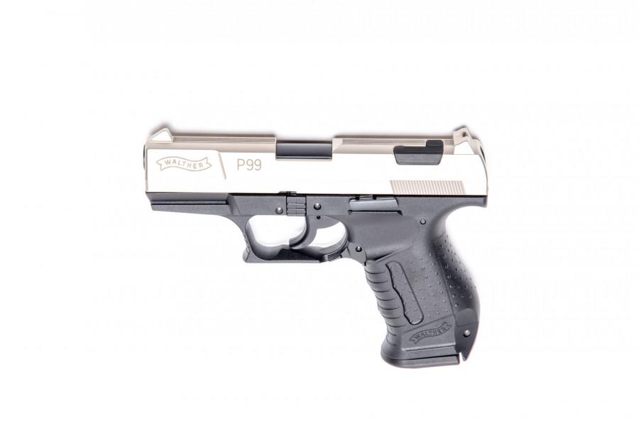 Walther Gaspistole P99 bicolor 9mmPAK