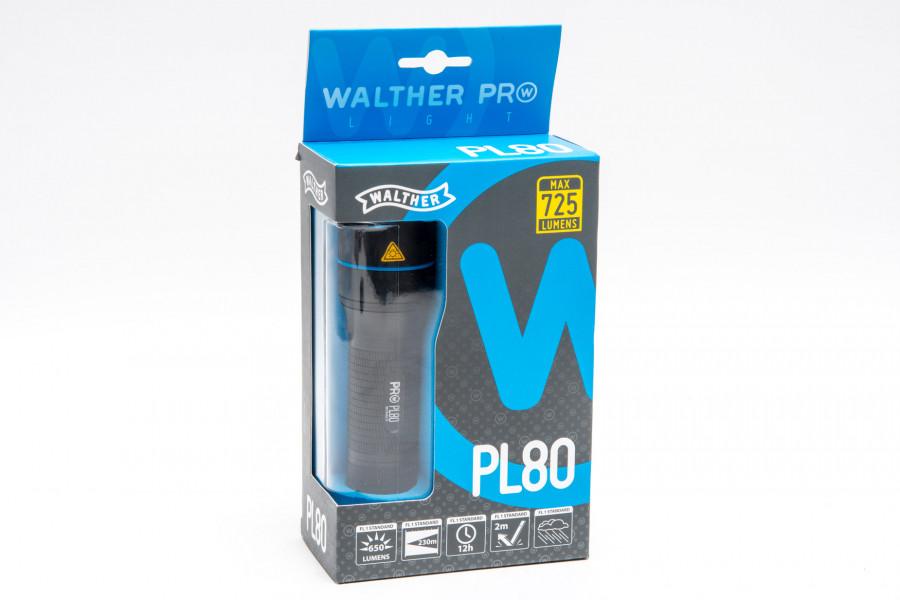 Walther Lampe PL80 535 Lumen