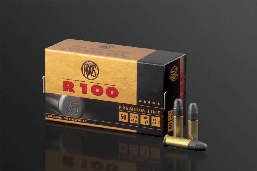 RWS Randfeuerpatronen 22lr R 100