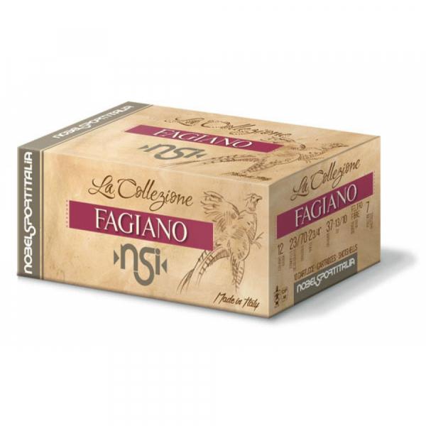 Schrotpatronen NSI Fagiano - fibre 12/70