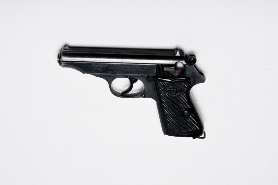 Pistole Walther PP Manurhinfertigung