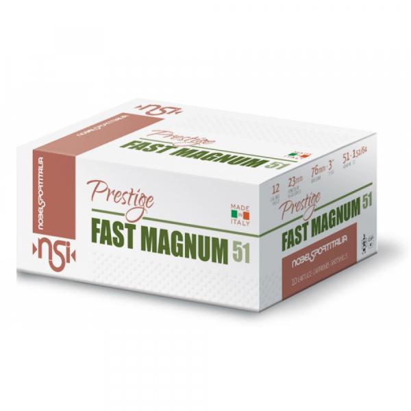 Schrotpatronen NSI Fast Magnum 51 HP 12/70