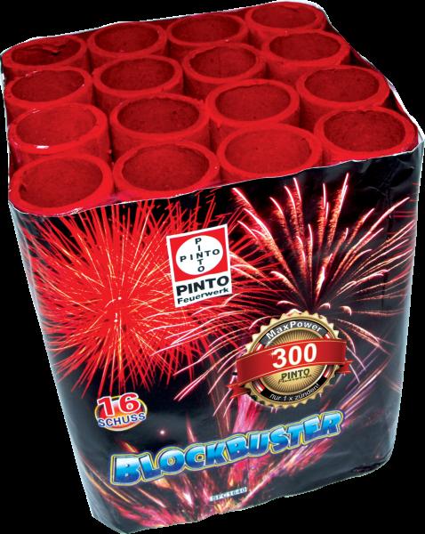 Batteriefeuerwerk Blockbuster
