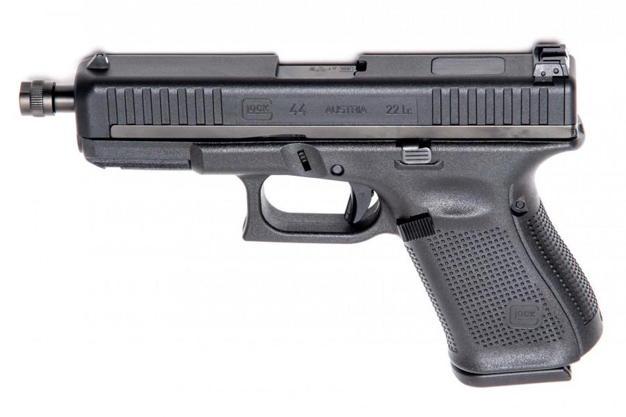 Pistole Glock 44 mit Gewindelauf M9x0,75