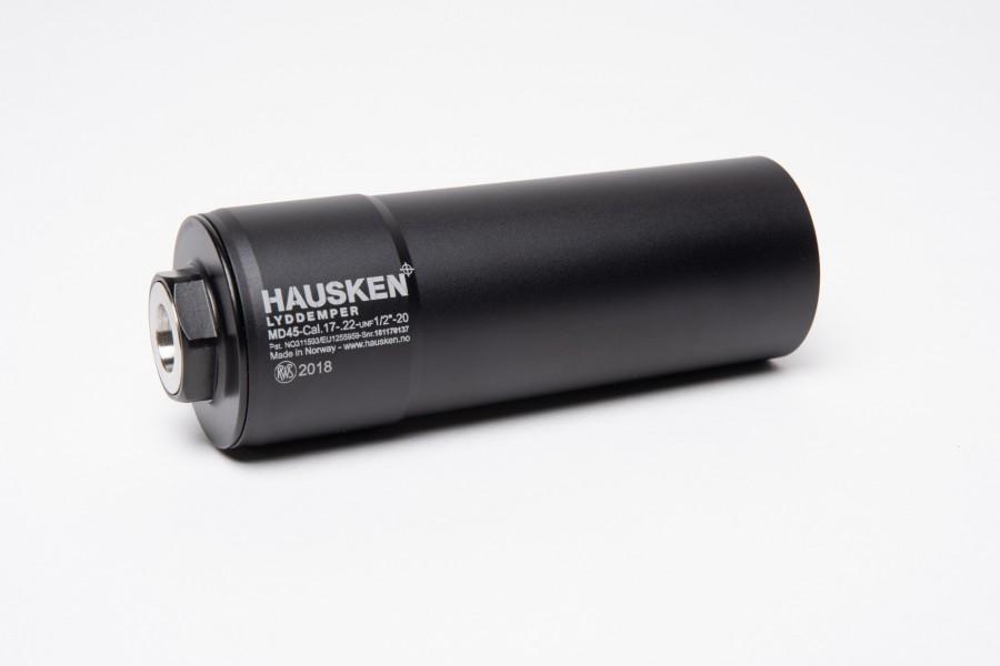 """Hausken Schalldämpfer MD45 1/2""""-20UNF"""