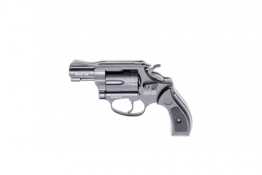 Reck Gasrevolver 36 brüniert 6mm