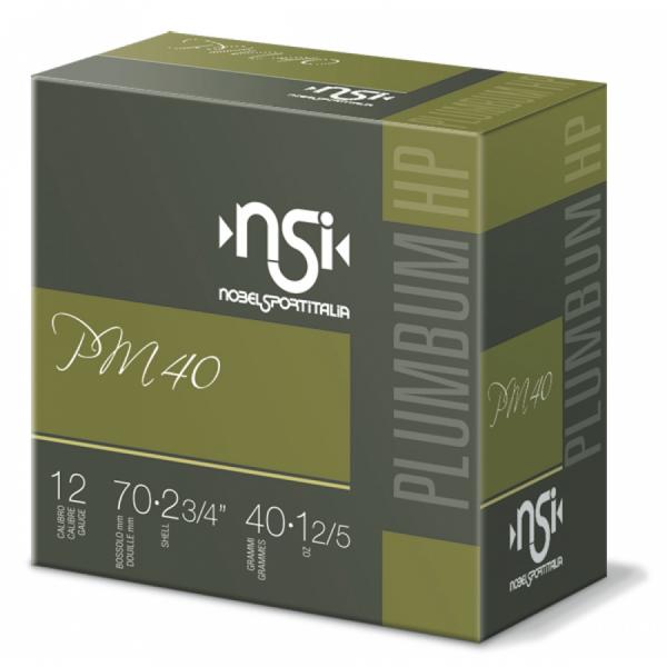 Schrotpatronen NSI PM40 HP 12/70