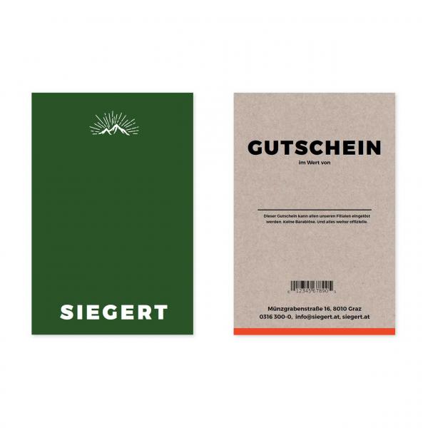 Gutschein Classic