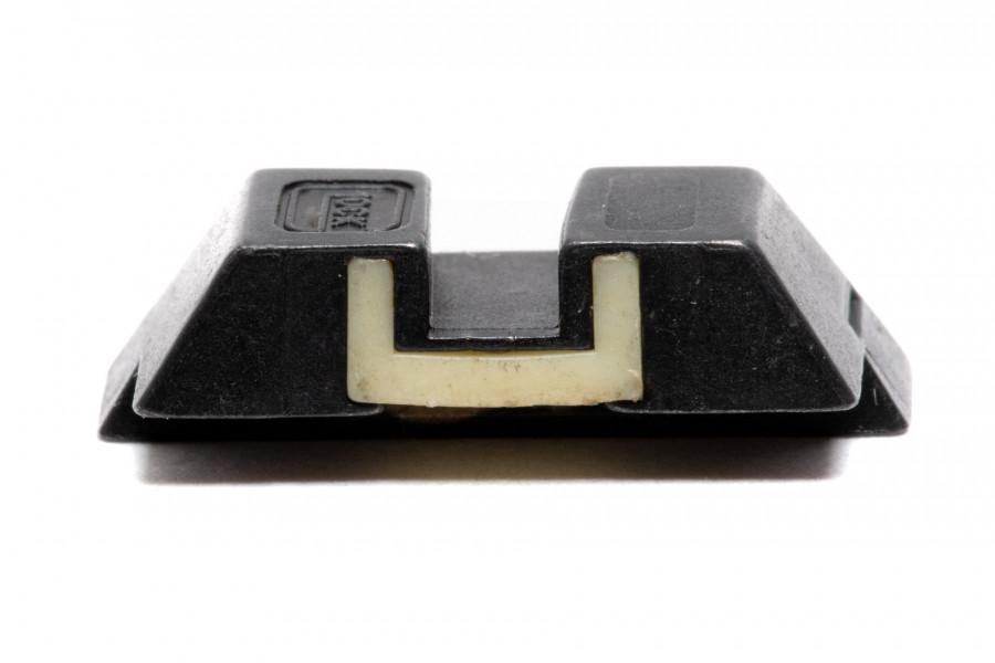 Kimme Glock Stahl nachleuchtend 6,5mm
