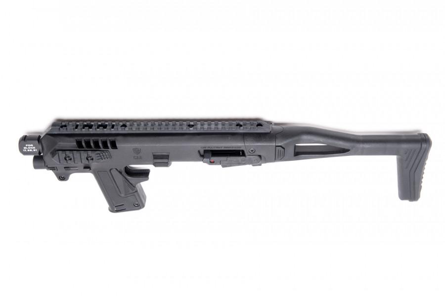 CAA Anschlagschaft RONI G3 Micro schwarz SET Glock 17