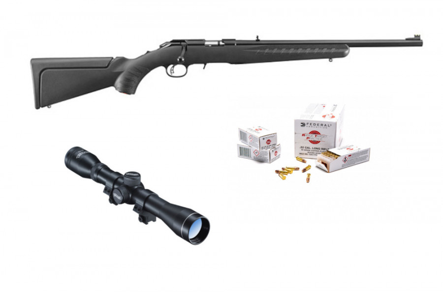 Repetierbüchse Ruger American Rimfire mit Walther 4x32