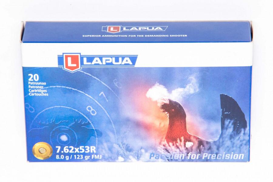 Büchsenpatronen Lapua 7,62 x 53 R FMJ
