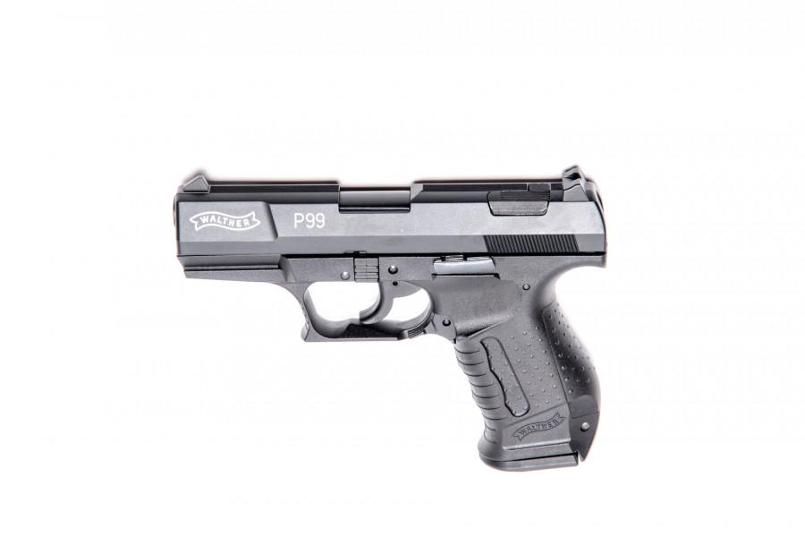 Walther Gaspistole P99 brüniert 9mm PAK
