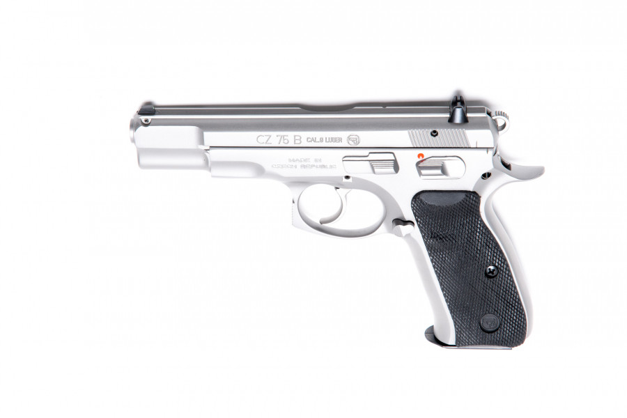 Pistole CZ 75 B stainless