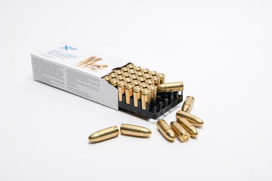 X-Force / ZVS Pistolenpatronen 9x19 mm (9mm Para / 9mm Luger)