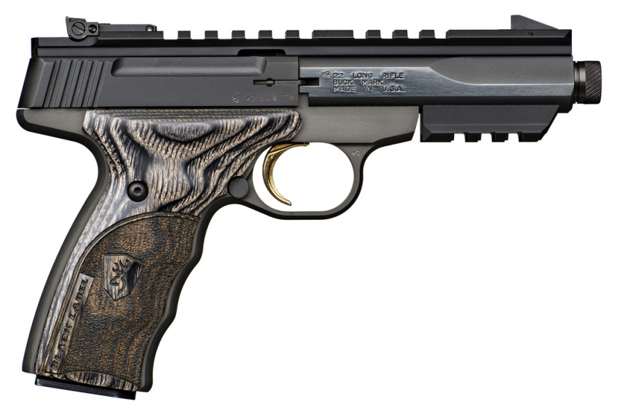 Pistole FN Buckmark Black Label Threaded