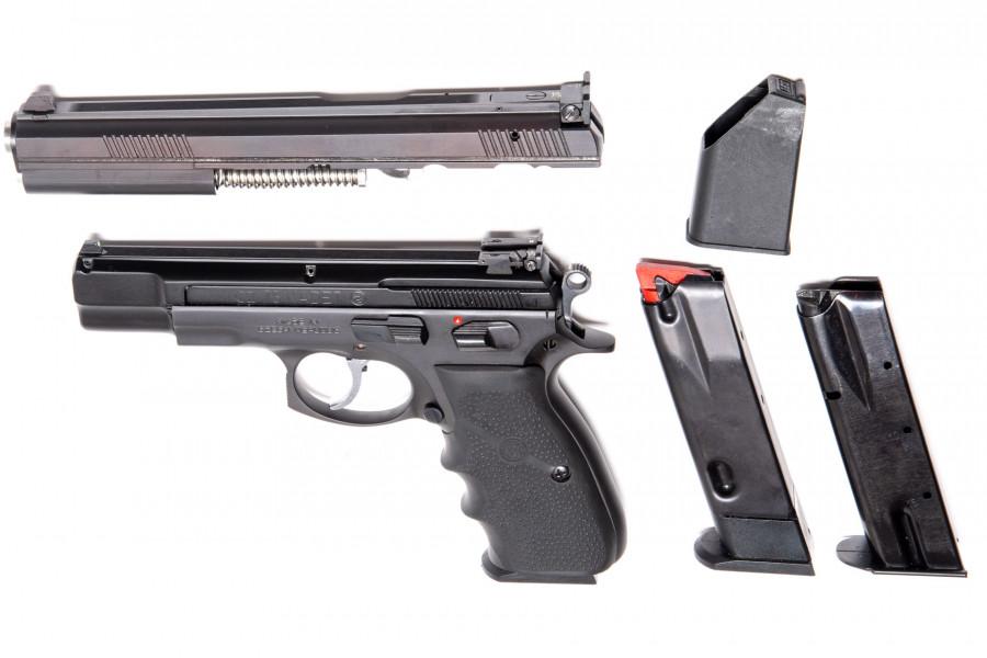 Pistole CZ 75 6 Zoll + Kadet Wechsell System