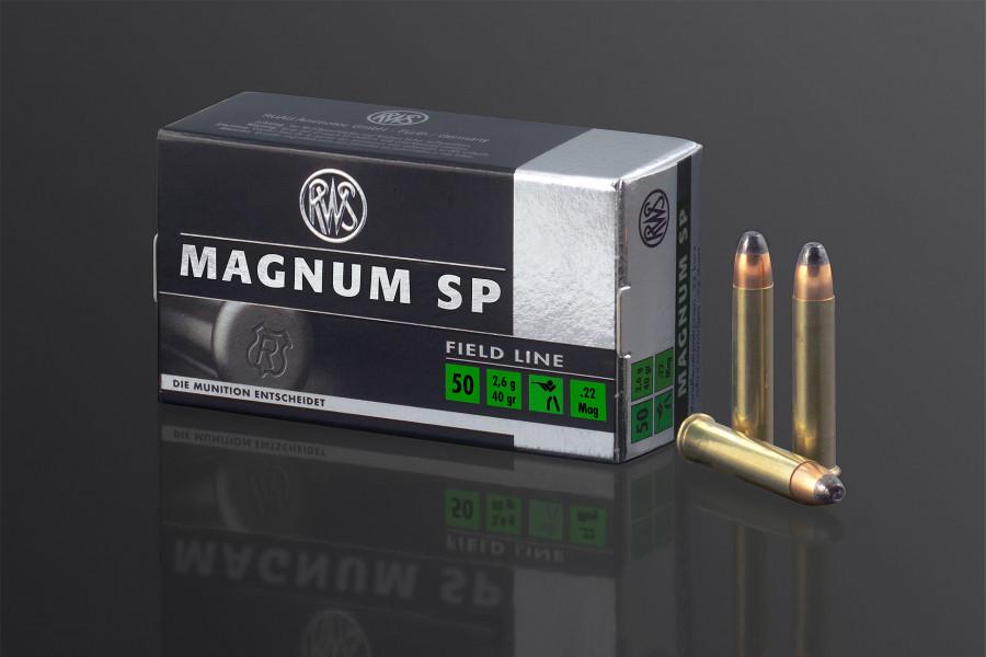 RWS Randfeuerpatronen 22 Magnum TM