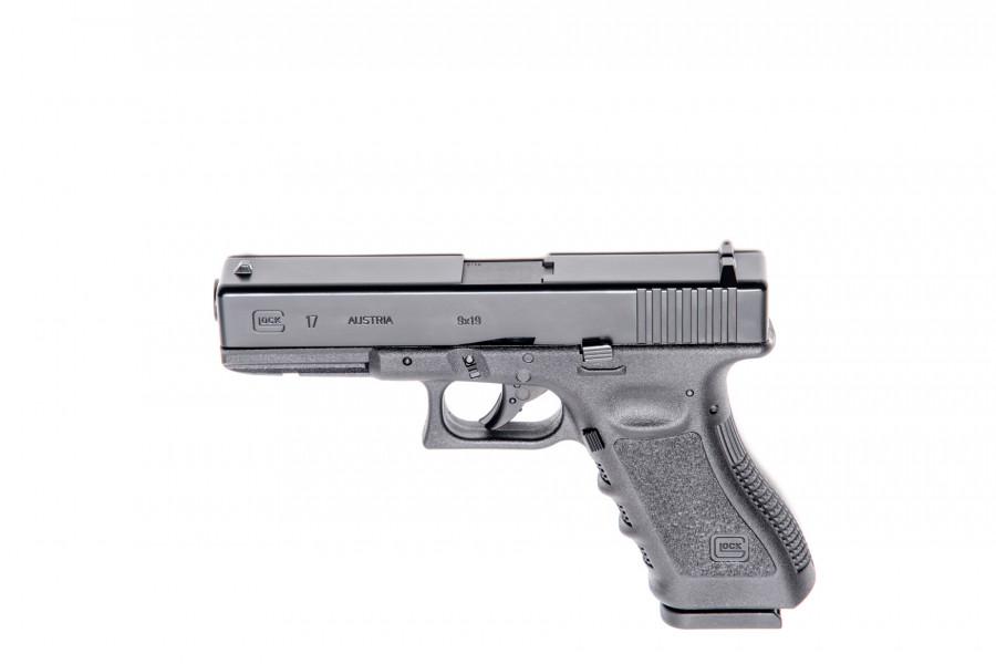 Glock CO² Pistole 17 4,5mmDiab/BB`s