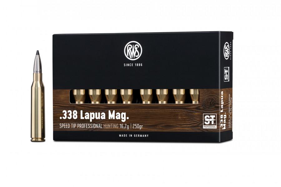 Büchsenpatronen RWS 338 Lapua Mag. ST-Professional 16,2g/250gr