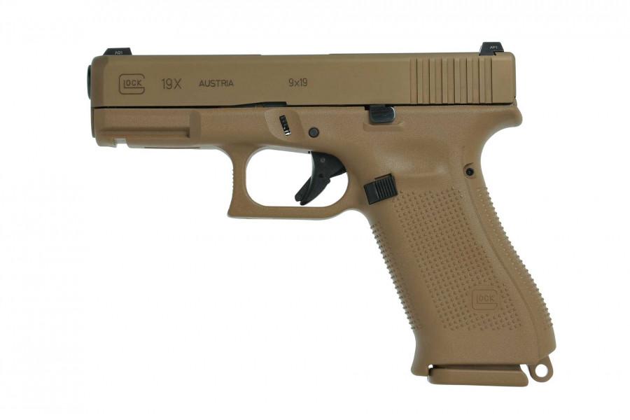 Pistole Glock 19X Crossover