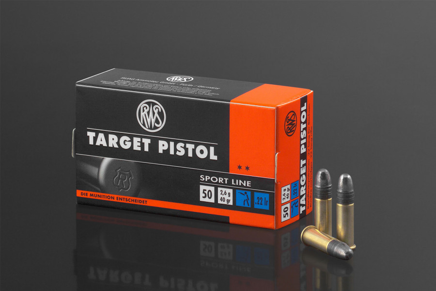 RWS Randfeuerpatronen 22lr Target Pistol